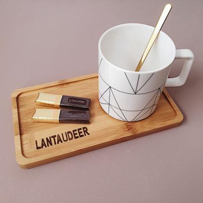 Подарочный набор с чаем и чайной парой