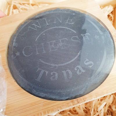Подарочный набор для сыра в деревянном ящике